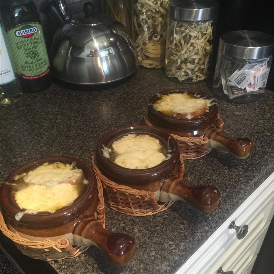 Lance's French Onion Soup Brandon Vieira