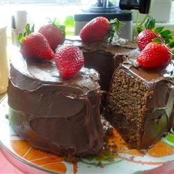 Chocolate Pound Cake I Suzanne Stull
