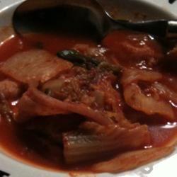 Korean Kimchi Jigeh Stew