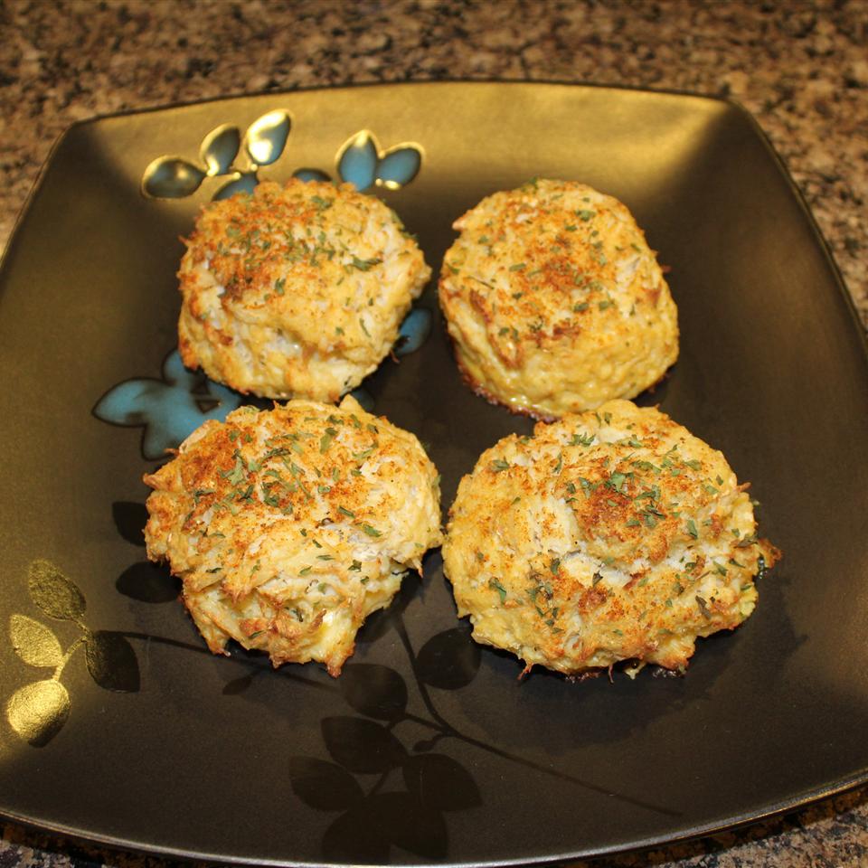 Grandmom Andersons' Crab Cakes Ms. Chef Esh