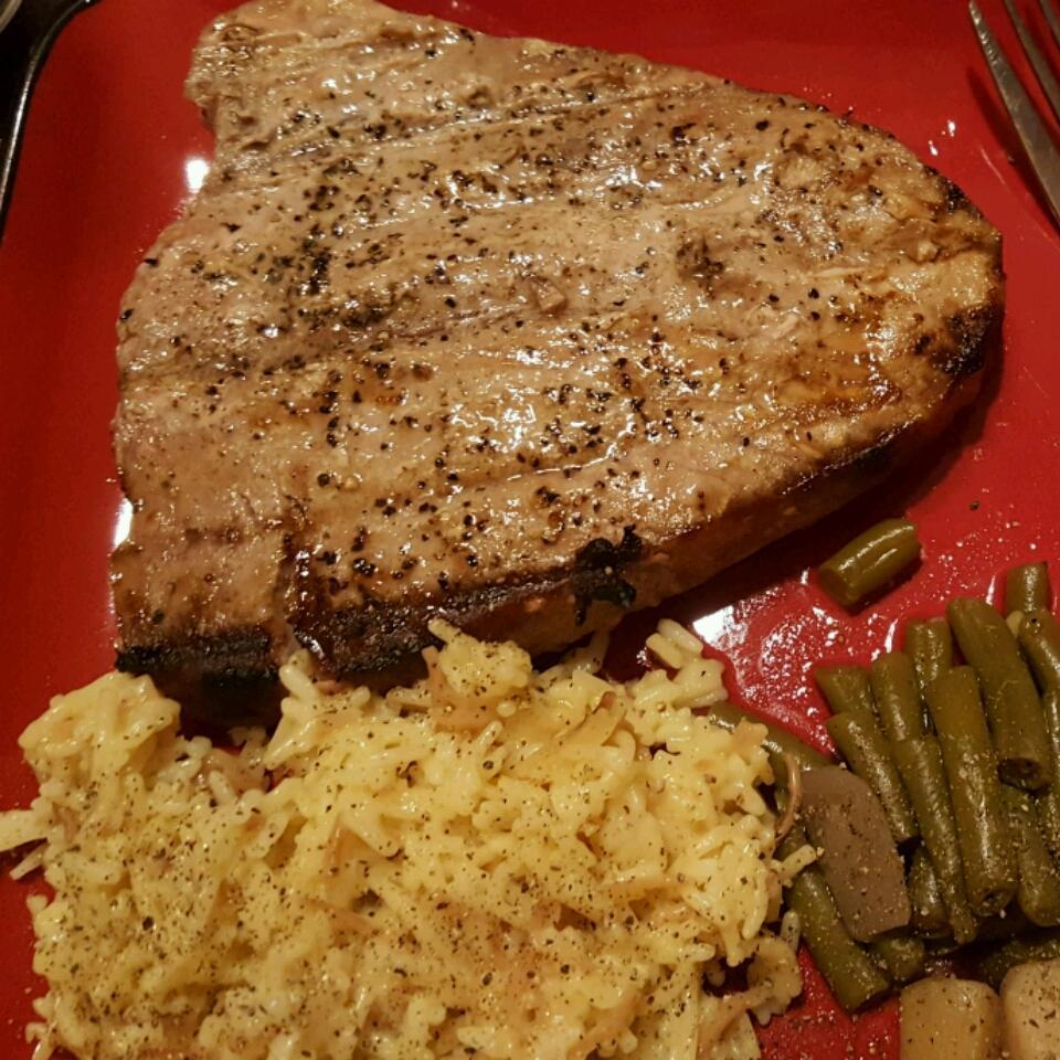 Grilled Tuna Jared Schipper