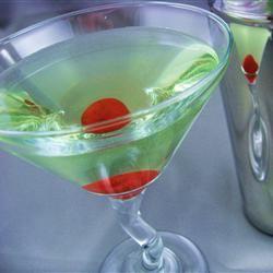 Peachy Apple Martini Dianne