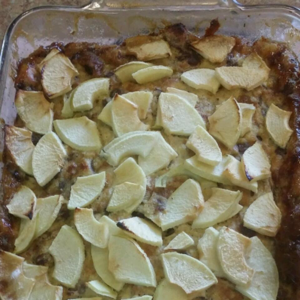 Apple-Raisin Breakfast Bread Pudding TOVARK77