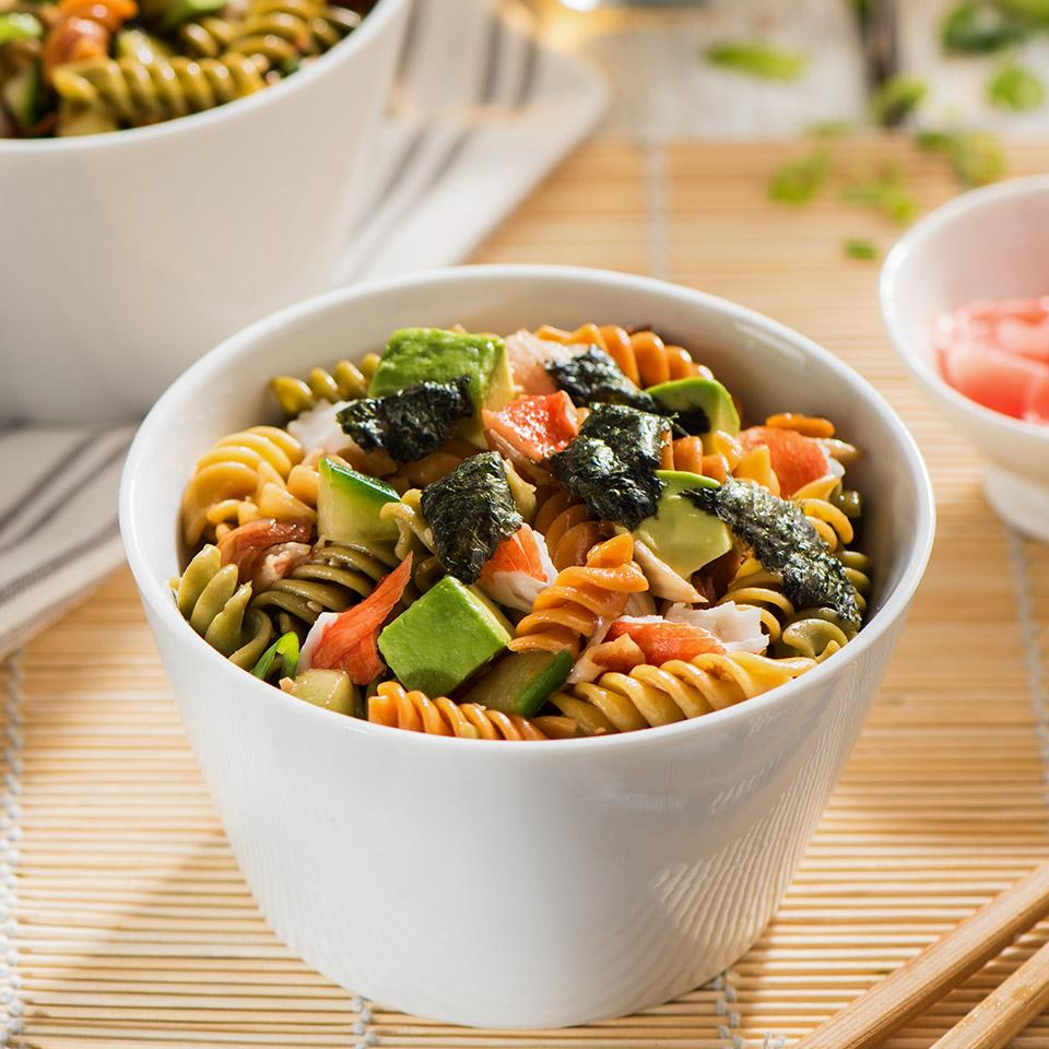 Catelli Bistro California Sushi Pasta Salad with Pickled Ginger Dressing