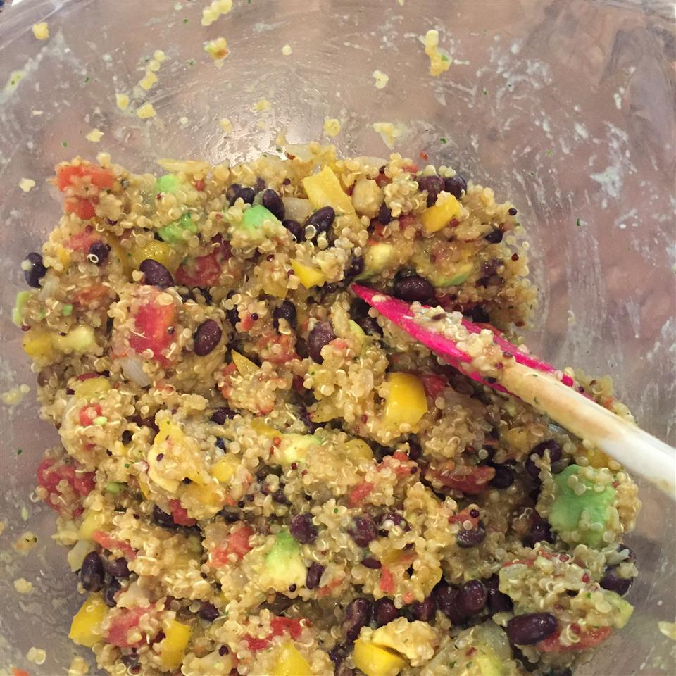 Quinoa with Chipotle-Lime Dressing kmathers