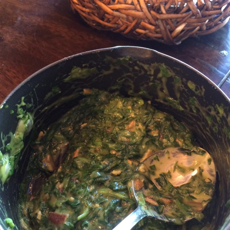 Creamed Spinach II