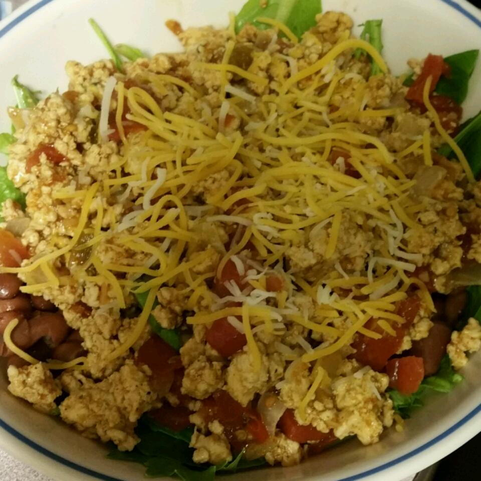 Taco Salad with Spinach BrittanI
