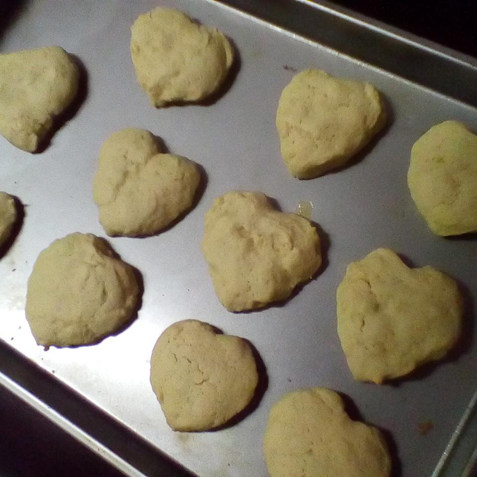 Shaped Vanilla Cookies Aidan Lemonade