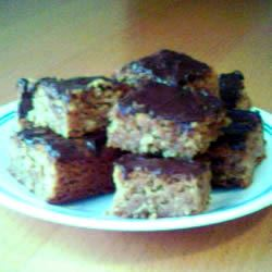 Chewy Whole Wheat Peanut Butter Brownies lpcookie
