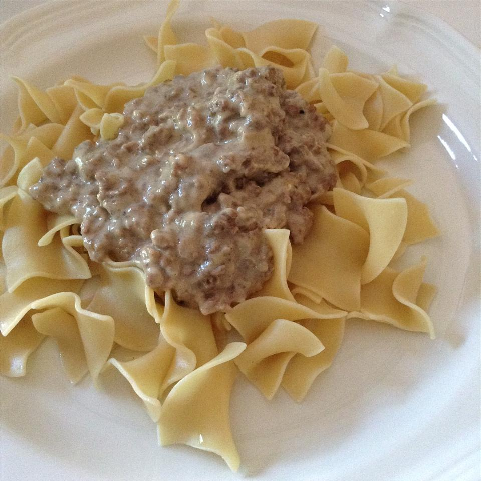 Army SOS Creamed Ground Beef