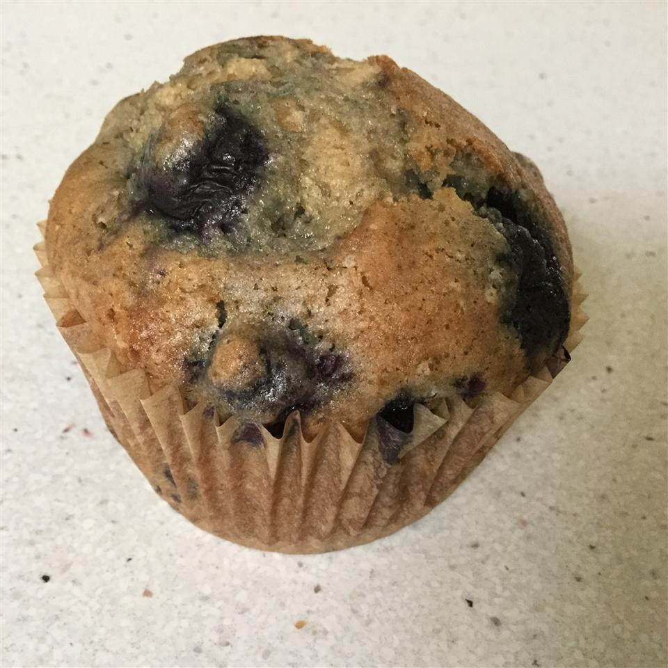 Best 100 Calorie Blueberry Muffins sam andted