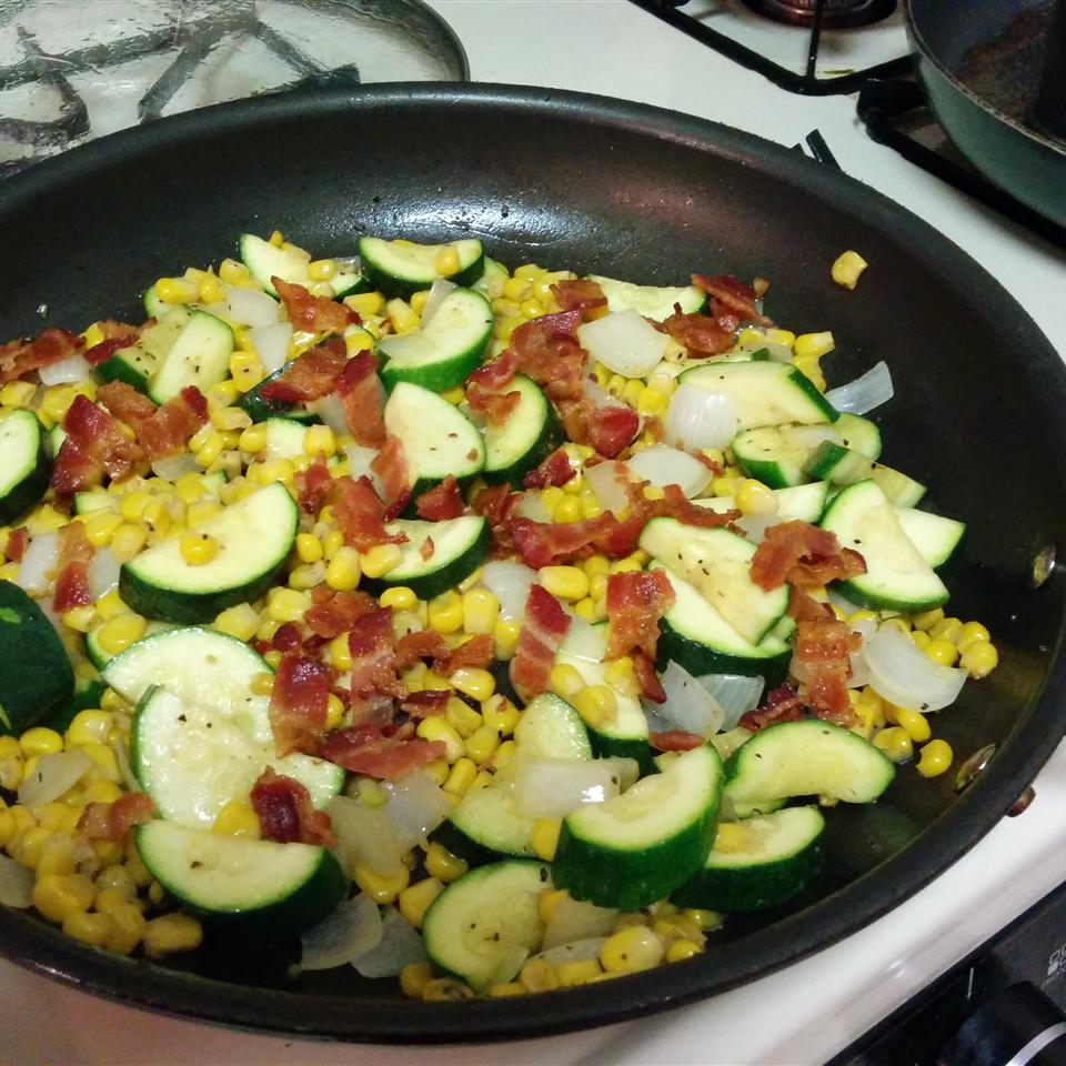 Corn and Zucchini Melody
