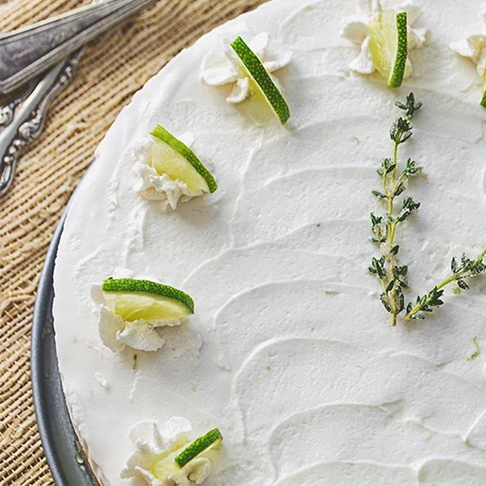 Key Lime Thyme Pie