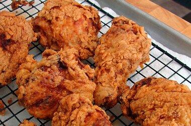 Chef John S Buttermilk Fried Chicken Recipe Allrecipes Com