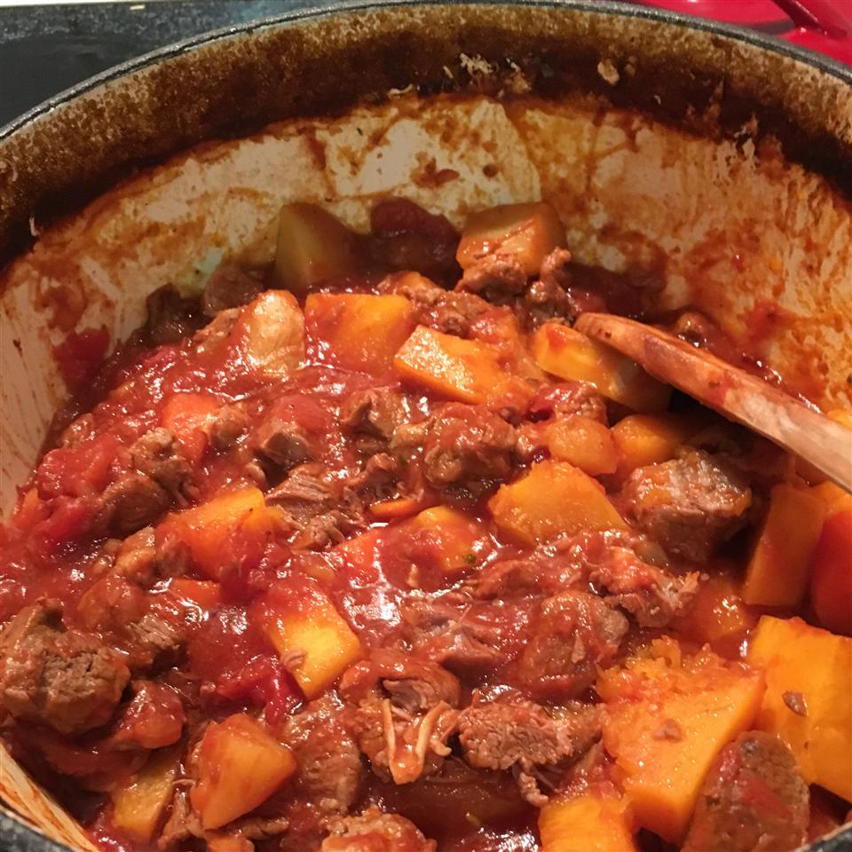 Lamb Stew with Butternut Squash Deborah Pinn