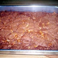 Candy Bar Brownies Tanaquil