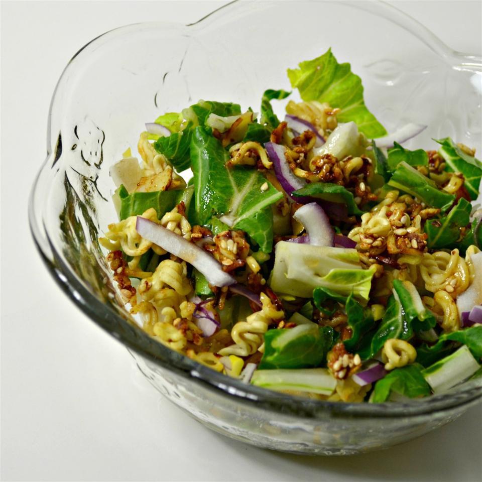 Bok Choy Ramen Salad Kim's Cooking Now