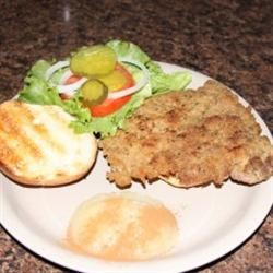 Traditional Indiana Breaded Tenderloin Sandwich Kathi Richards Smith