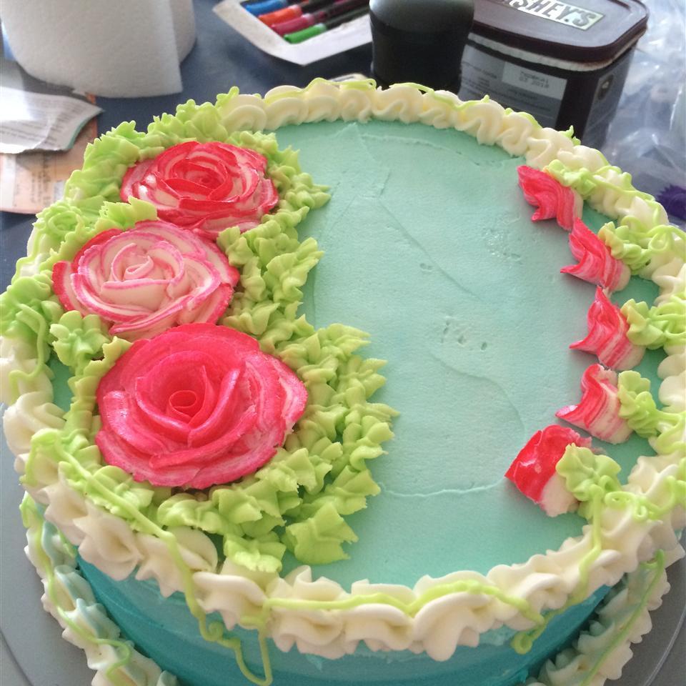 Swiss White Chocolate Cake