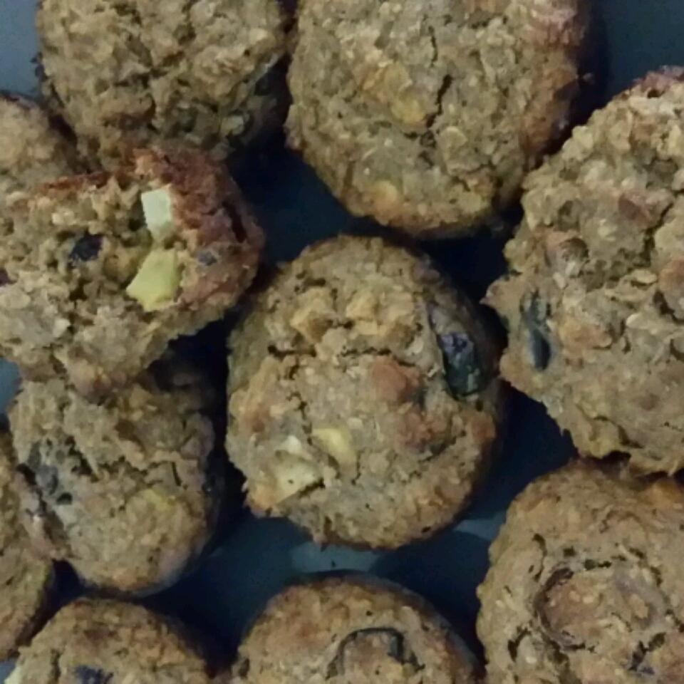 Oatmeal Apple Muffins