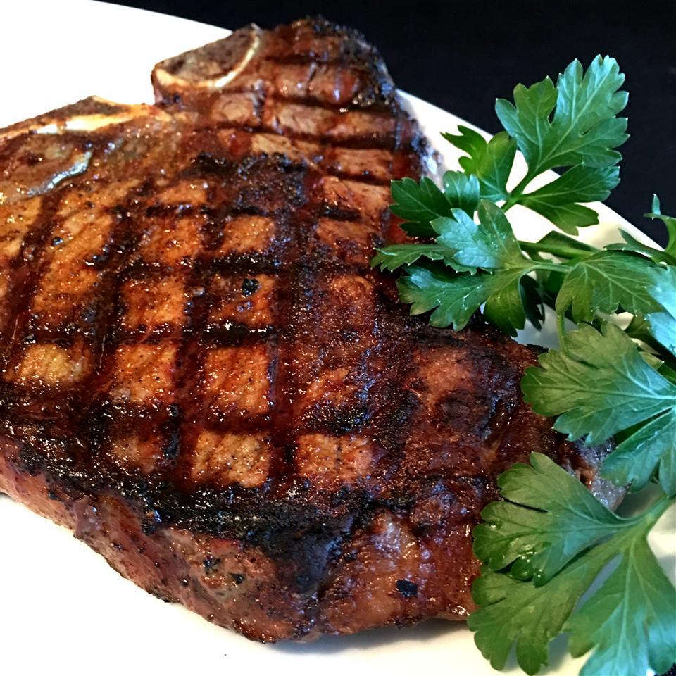 Barbequed Steak Happyschmoopies