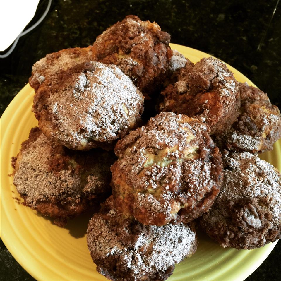 Healthier Banana Crumb Muffins Kimberly Henry