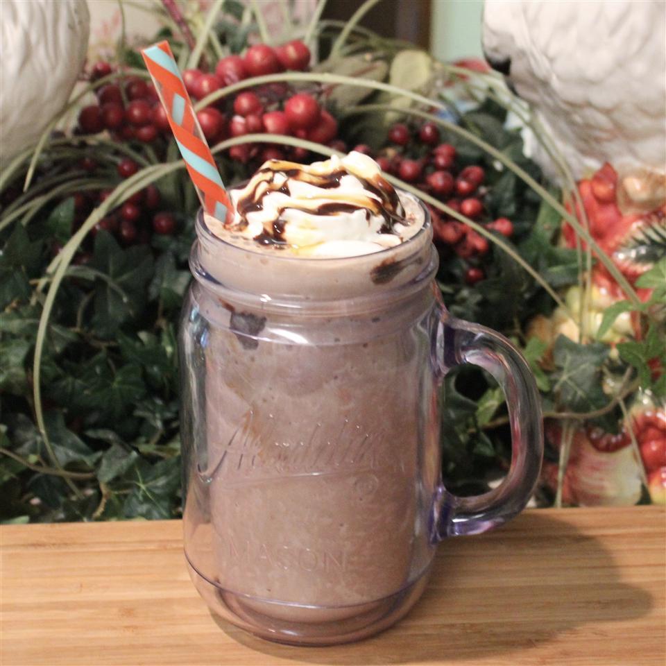 Chocolate Banana Latte Shake