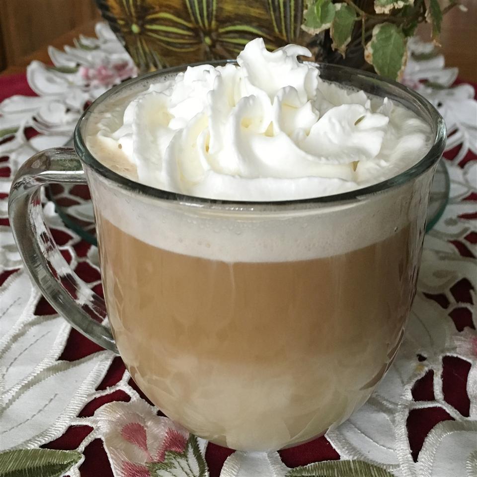 Skinny White Chocolate-Coconut Latte