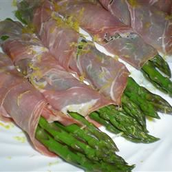 Cold Asparagus with Prosciutto and Lemon Kim's Cooking Now