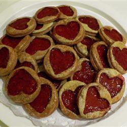 Raspberry Hearts Sara A.