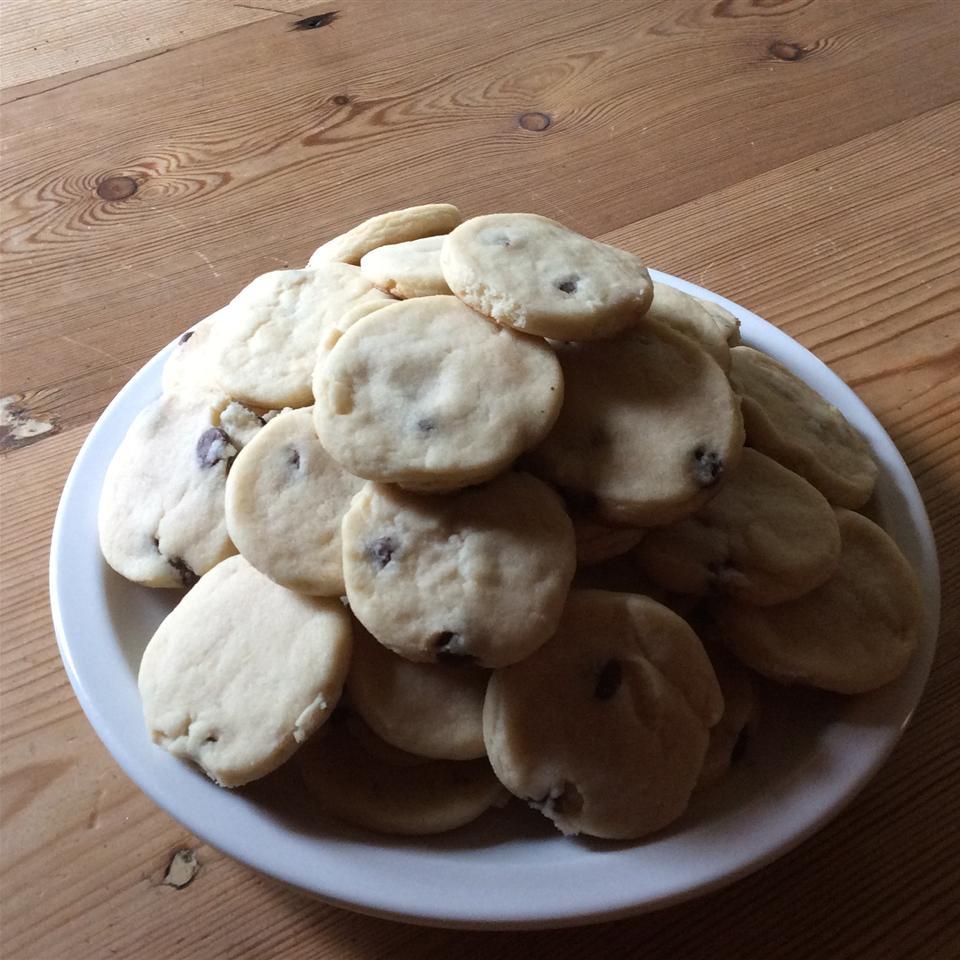 Citrus Shortbread Cookies KittyKat