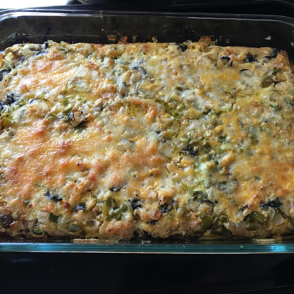 Baked Omelet Squares Cooking Panda