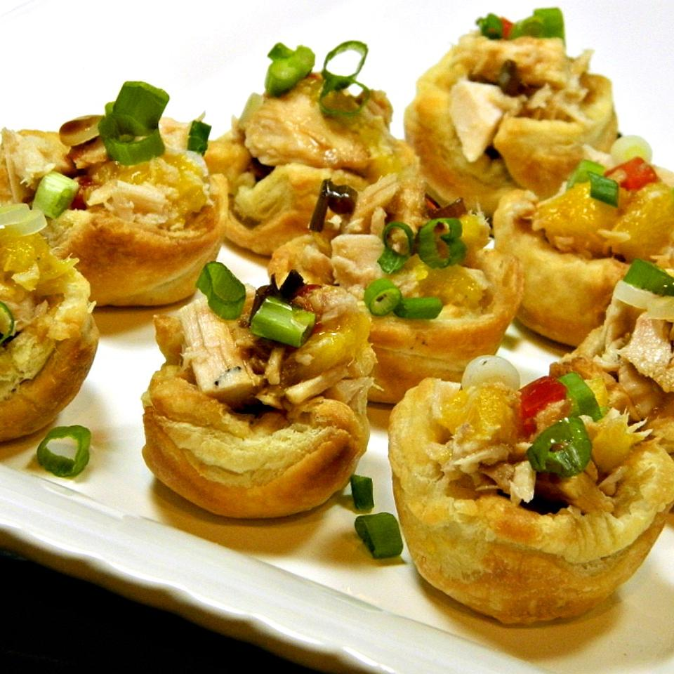Sweet and Spicy Tuna Cups Marianne