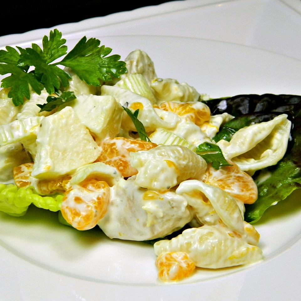 Chicken Seashell Salad MAGGIE MCGUIRE