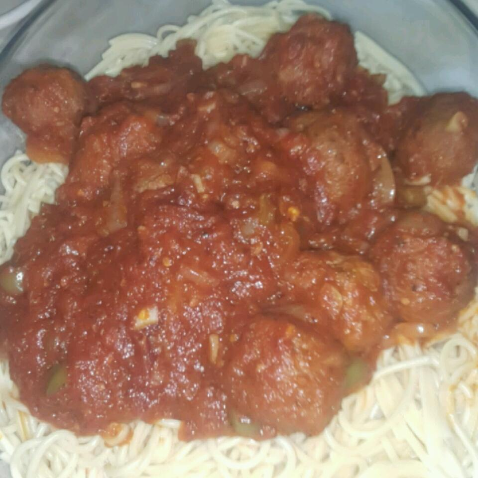 Megan's Amazing Spaghetti and Meatballs ENGEE