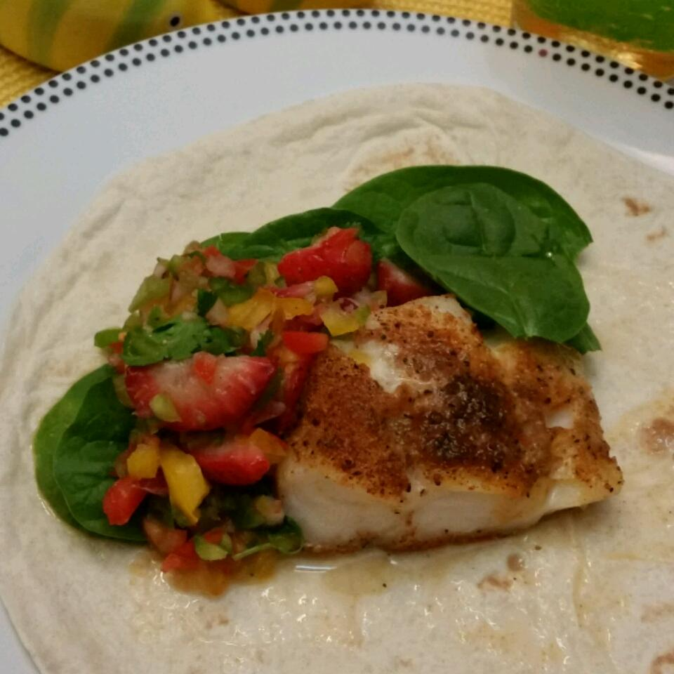 Simple Broiled Haddock