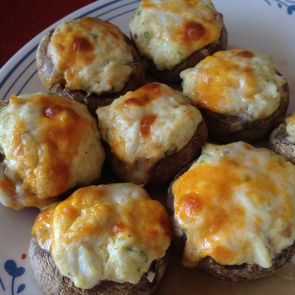 The Best Seafood Stuffed Mushrooms Liesa Blackstaffe