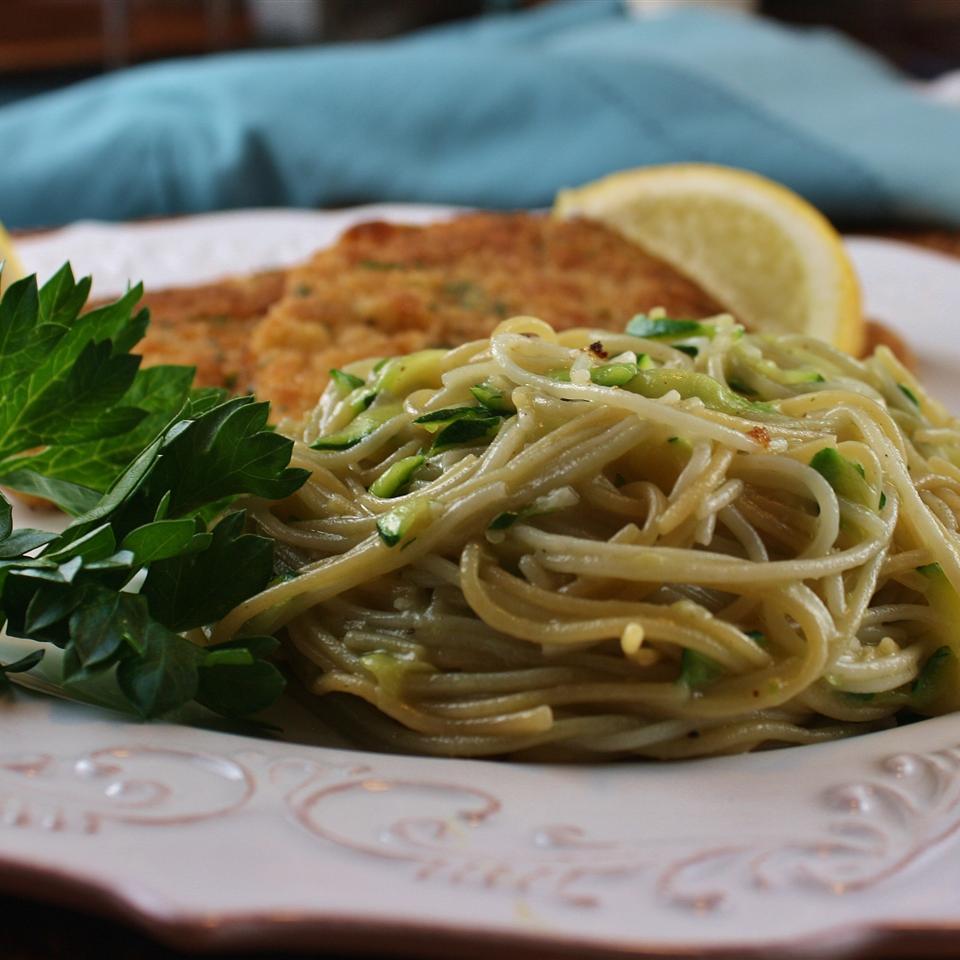 Fresh Zucchini Pasta Sauce tabarita