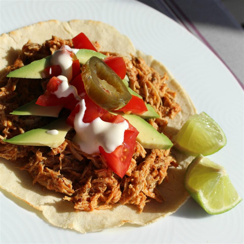 Spicy Shredded Chicken Tinga Buckwheat Queen