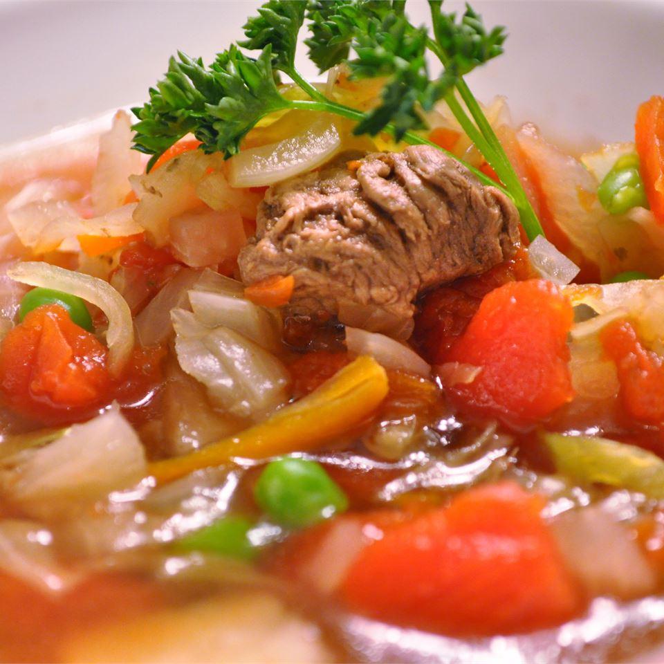 Venison Vegetable Soup