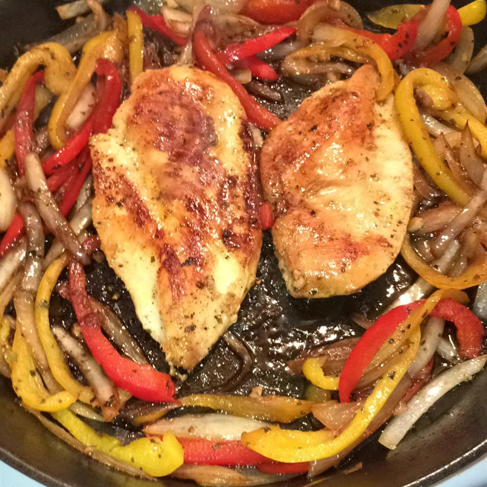 Chicken and Peppers with Balsamic Vinegar ROBYN050501