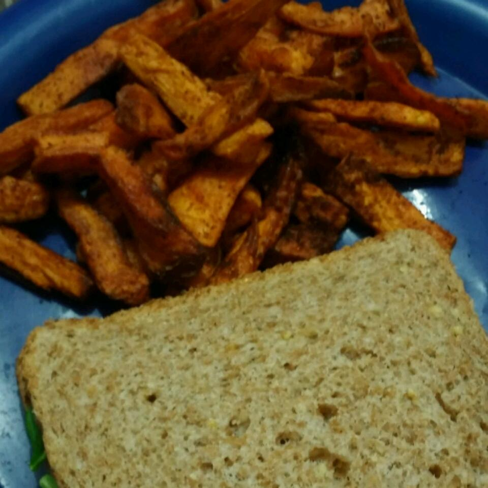 Roasted Sweet Potato Fries K. Heard