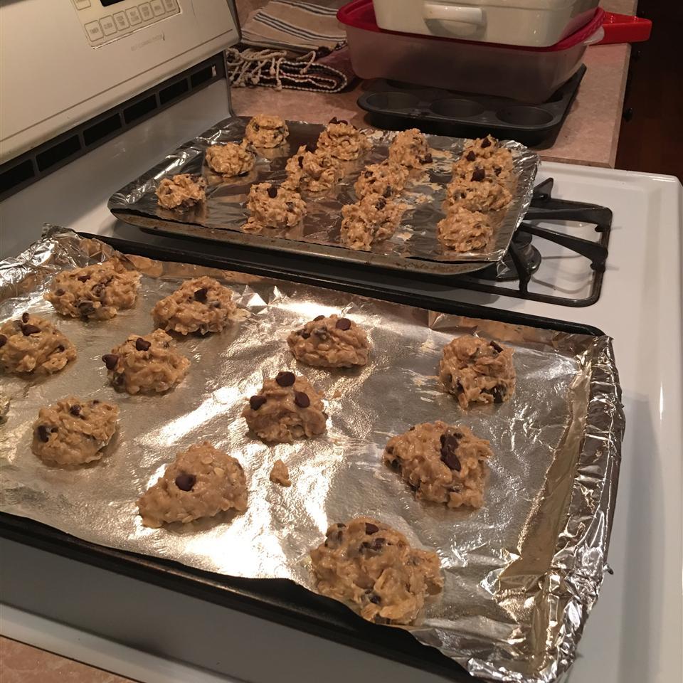Banana Oatmeal Cookies I