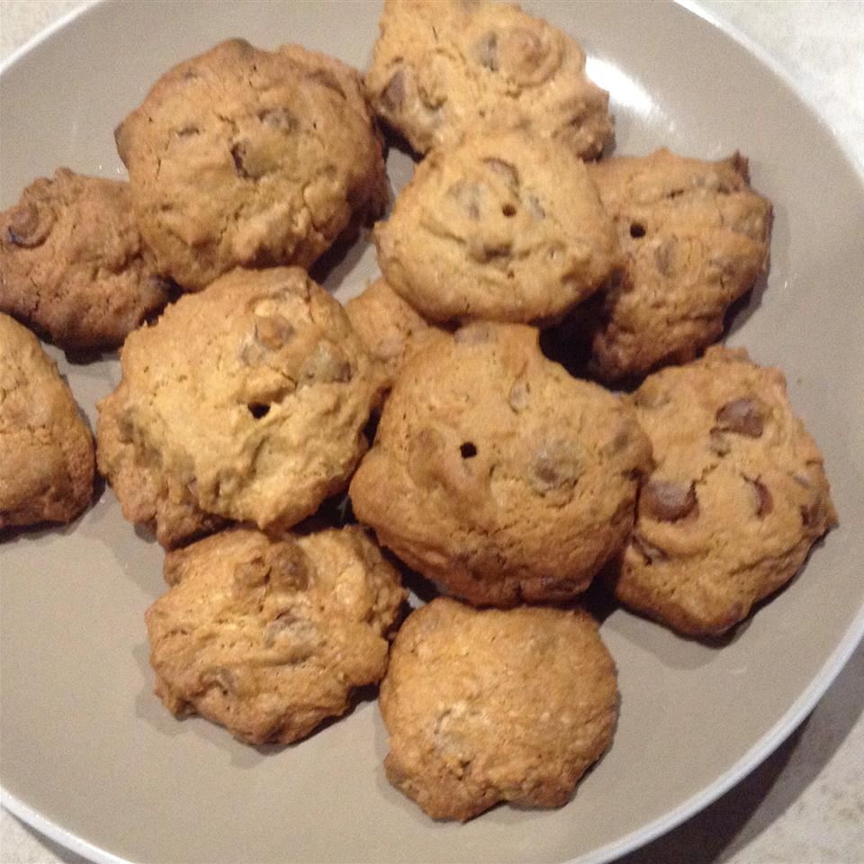 Zippy Chocolate Chip Cookies steph