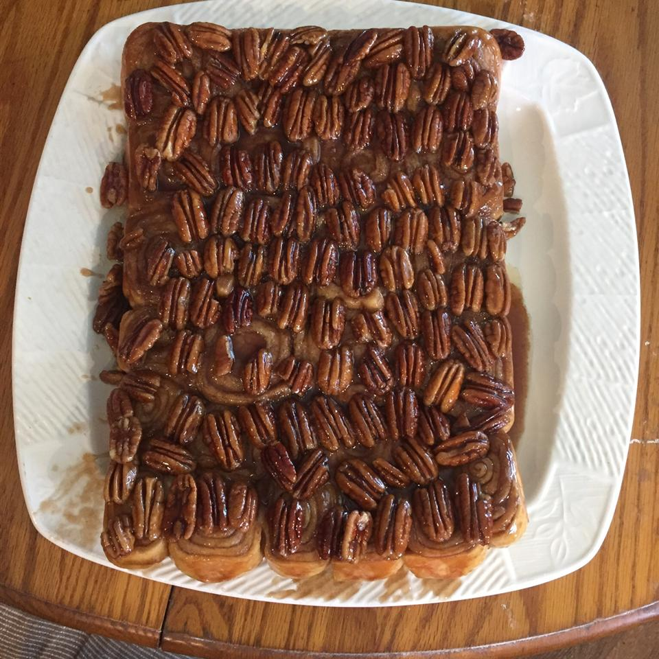 Grandmother Stougaard's Caramel Pecan Sweet Rolls Nicole Boncore Besancon