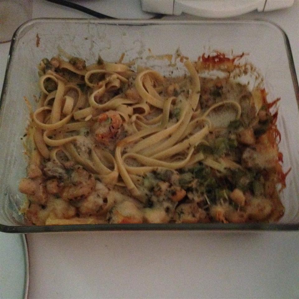 Cajun Seafood Pasta