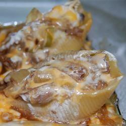 Roast Beef Stuffed Shells
