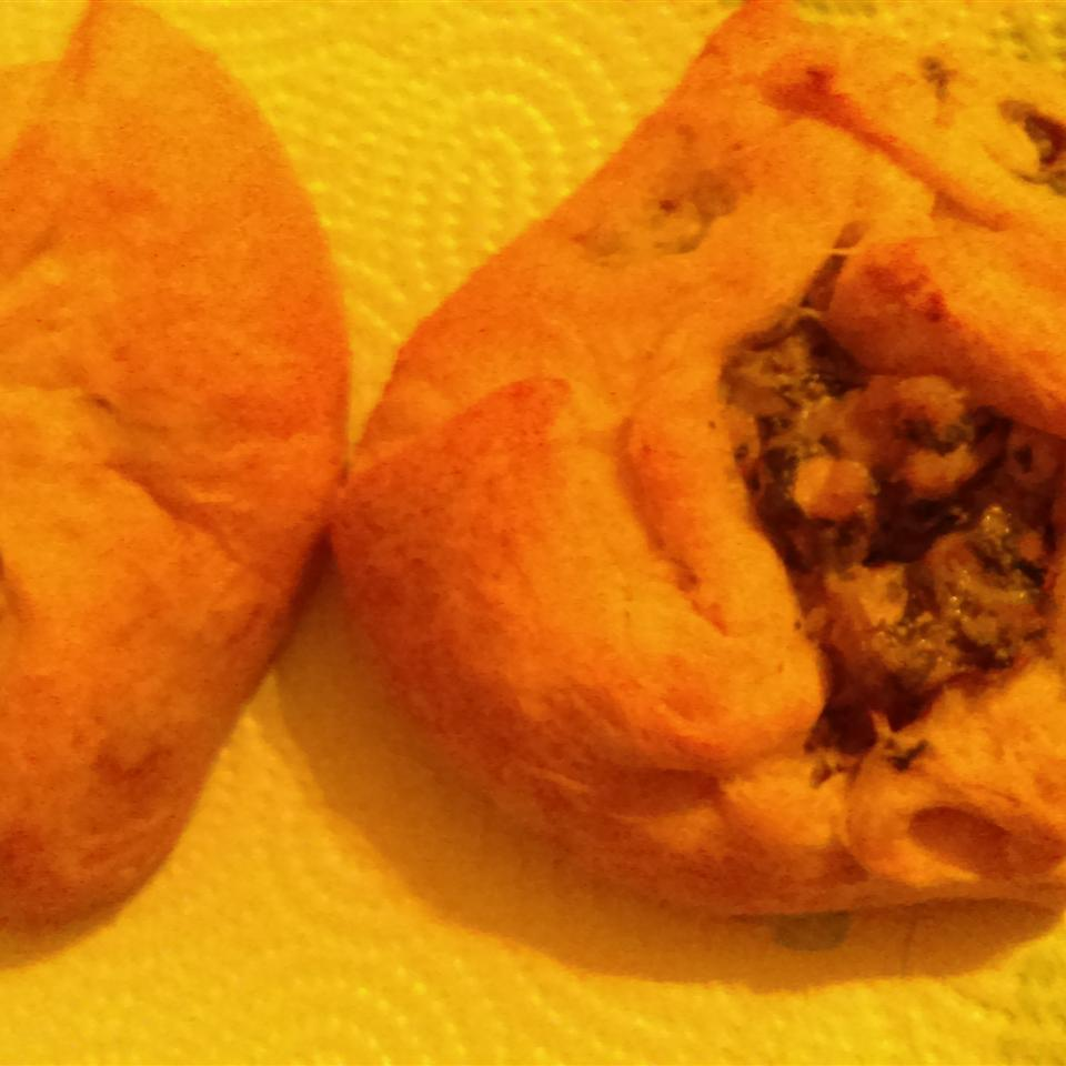 Chicken and Spinach Puffs