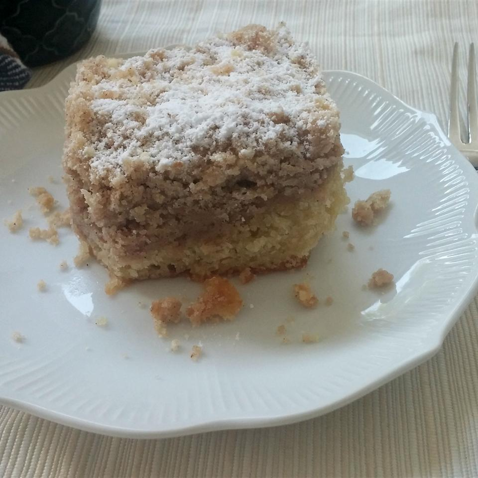 Outrageously Buttery Crumb Cake Chef Mo