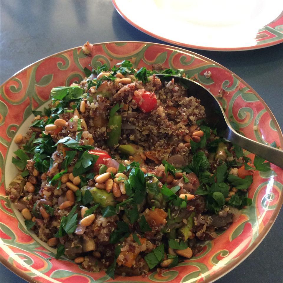 Shrimp and Quinoa winointhekitchen